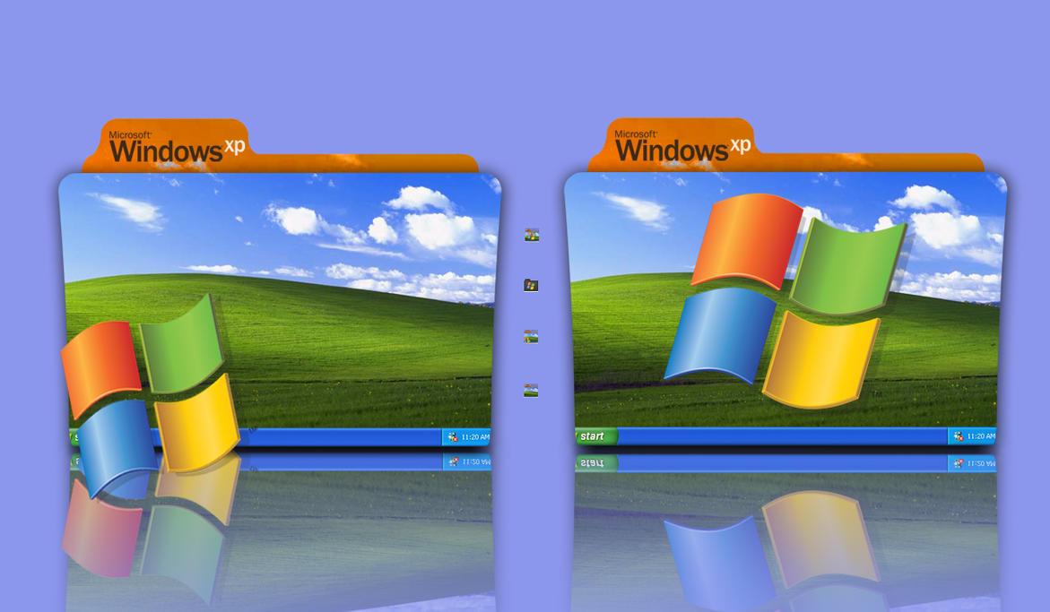 how to create folder in windows xp