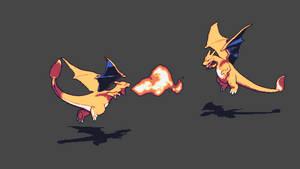 Charizard - Flamethrower