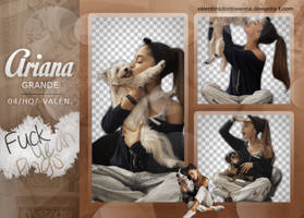 Pack png - Ariana Grande. by ValentinaDontiWanna