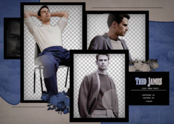 Pack png - Theo James. by ValentinaDontiWanna