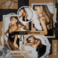Pack png - Ariana Grande by ValentinaDontiWanna