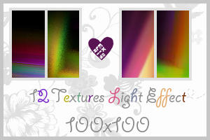 Light Effect Textures 100x100 by Ushia
