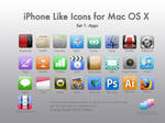 iPhone Like Icons for Mac OS X