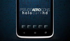 Pseudo Aero Icons (Holo Dark HD)