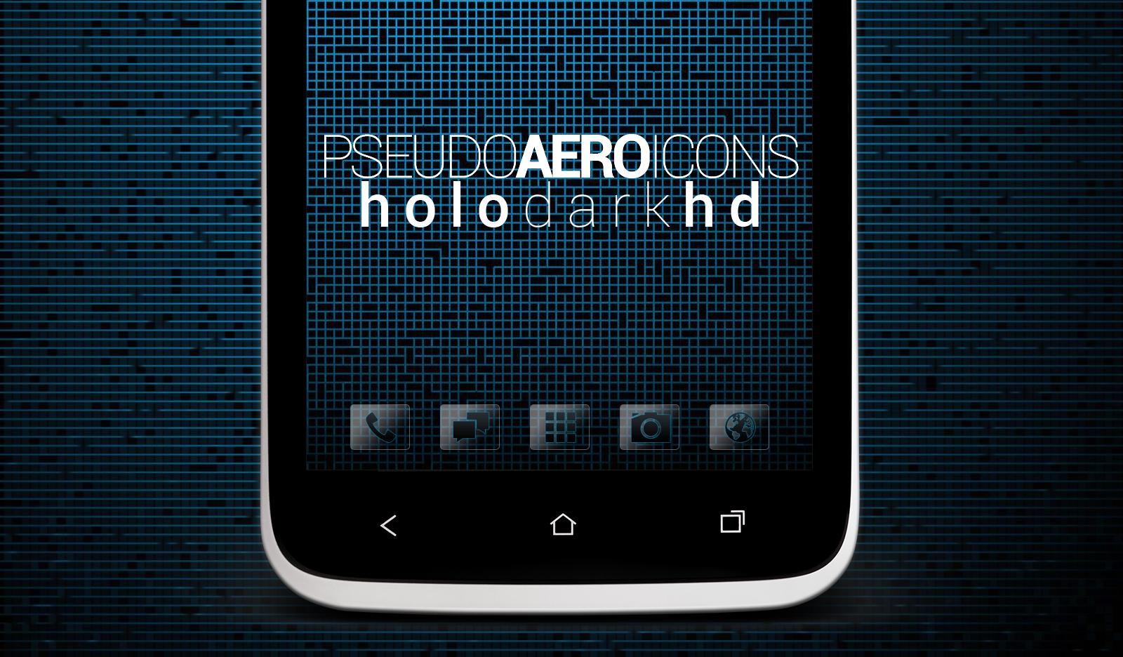 Pseudo Aero Icons (Holo Dark HD) by sabret00the on deviantART