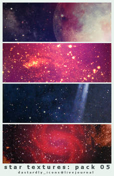 Star Textures: Pack 05