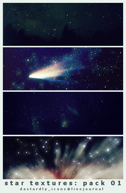 Star Textures: Pack 01