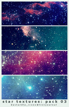 Star Textures: Pack 03