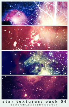 Star Textures: Pack 04