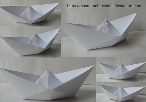Paper Boat Stock Pack