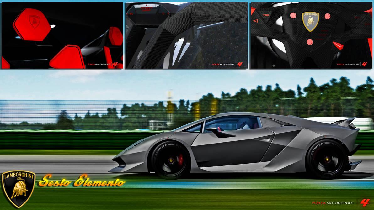 Lamborghini Sesto Elemento Wallpaper By Cpumrossi On Deviantart