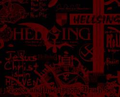 Hellsing Logos + Inscriptions