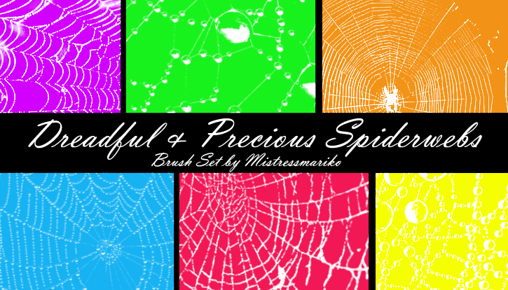 Dreadful + Precious Spiderwebs by mistressmariko