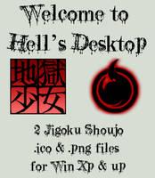 Jigoku Shoujo IconPack by mistressmariko