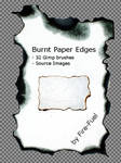 Burnt Paper Gimp Brushes