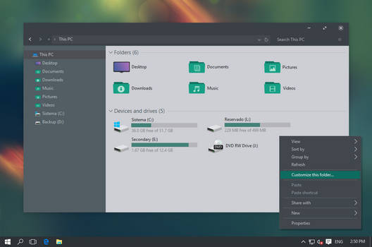 Ades Theme for Windows 10