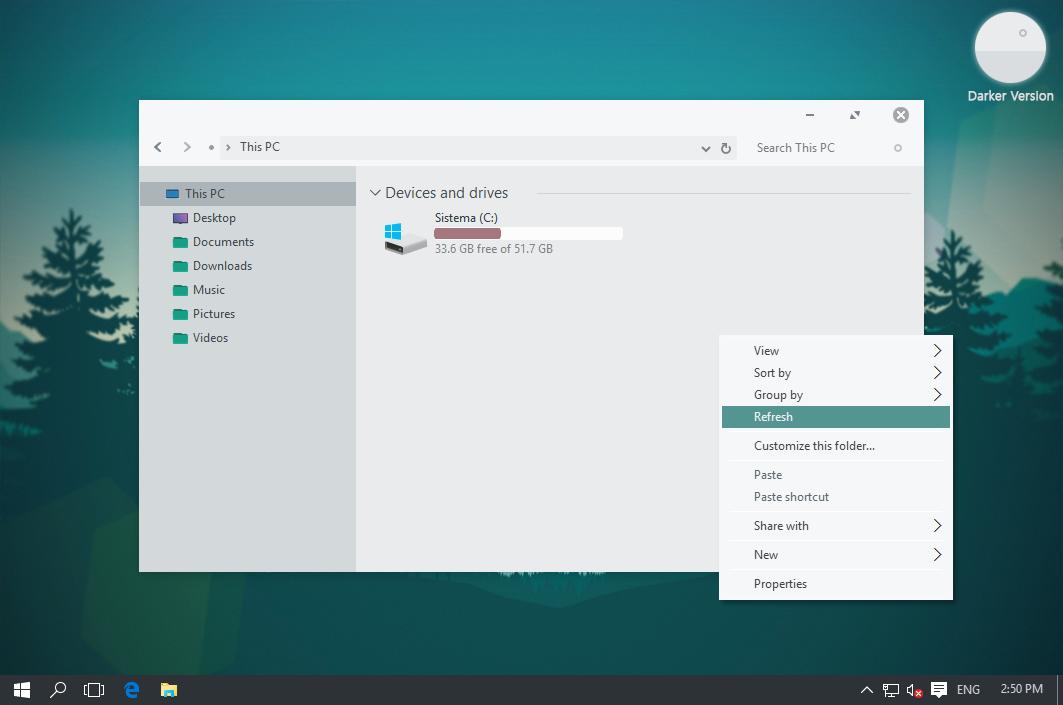 Soft Light Theme for Windows 10
