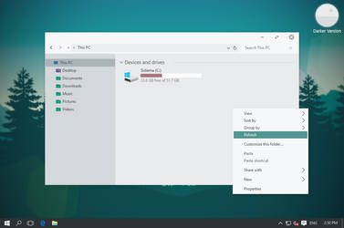 Soft Light Theme for Windows 10 by unisira
