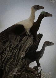 Eoraptor Family by KirbyniferousRegret