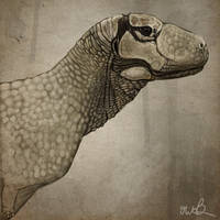 Aucasaurus for Antediluvian Salad by KirbyniferousRegret