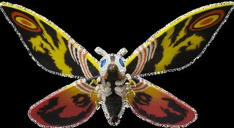 Mothra Figure (PNG) by jacobstout