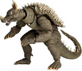 Anguirus Figure (PNG) by jacobstout