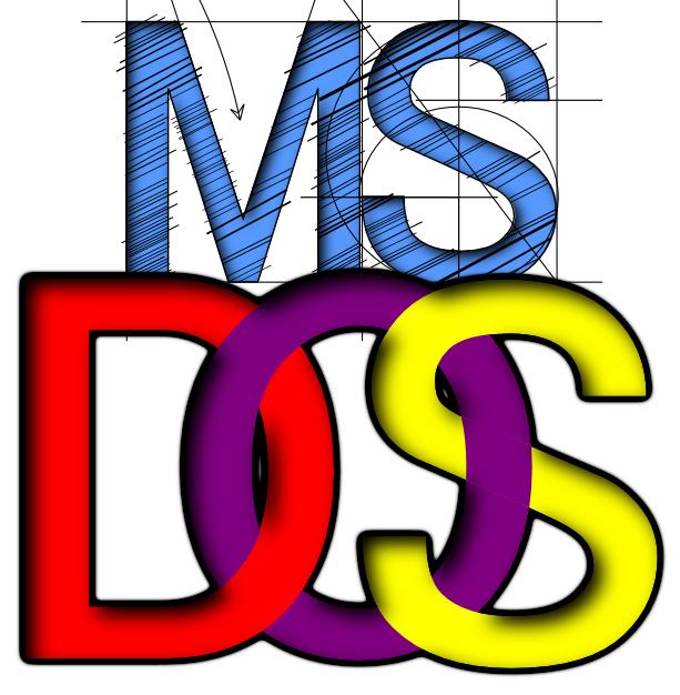 ms-dos logocaptjc on deviantart