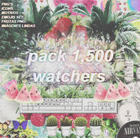 Pack 1,500 watchers by our-little-infinity