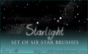 Starlight Brushes by evarocksit
