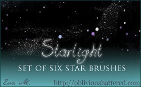 Starlight Brushes by evarocksit