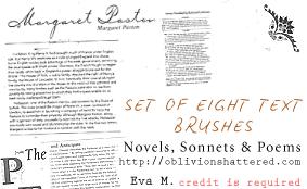 Sonnet Brushes by evarocksit