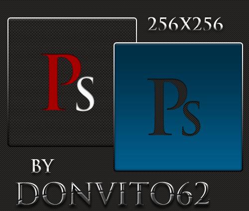 Adobe Photoshop Carbon Icons by donvito62 - Ücretsiz Photoshop Simgeleri