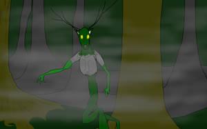 horror character/creature 1: wilderman by MethusulaComics