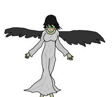 OC Halloween costumes- Nirva the angel