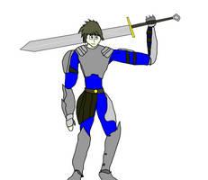 OC Halloween costumes- Belhan the knight