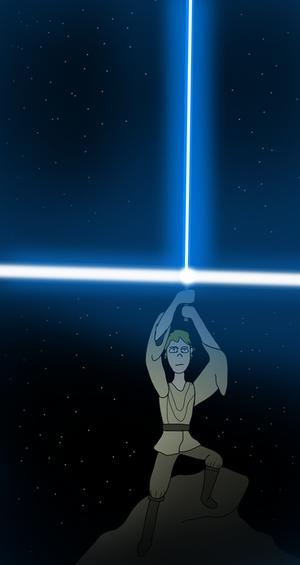Star Wars-The Lightsaber