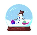 Free Emot -Snow Globe-