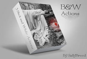 Black and White Actions by SallyBreed