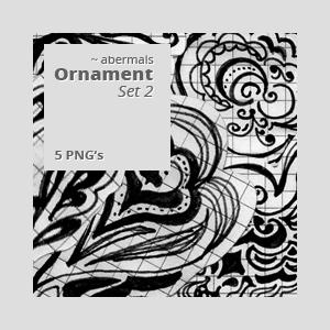 PNG: Ornament Set 2 by abermals
