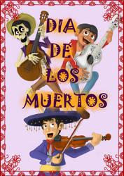 Dia de los Muertos by MagzieArt