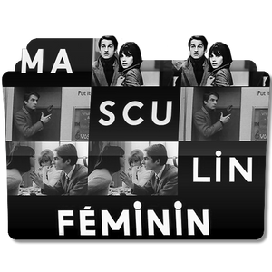 Masculin Feminin (1966) V3 Folder Icon
