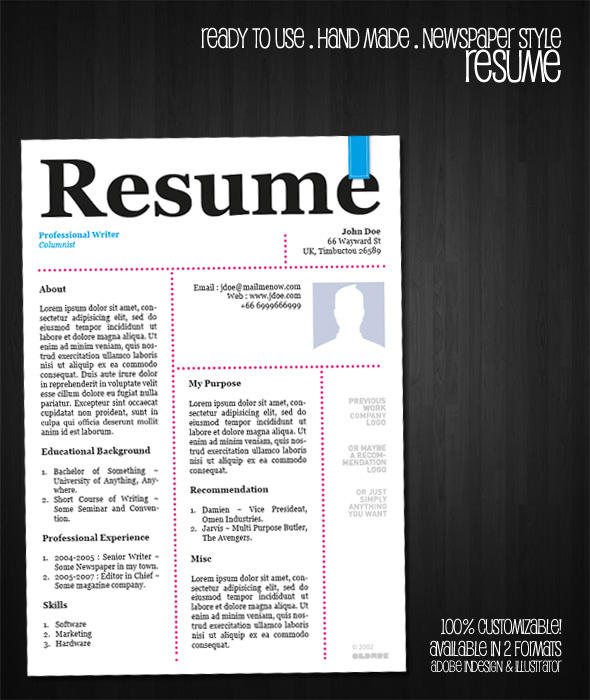 Resume Template Different Jobs Same Company