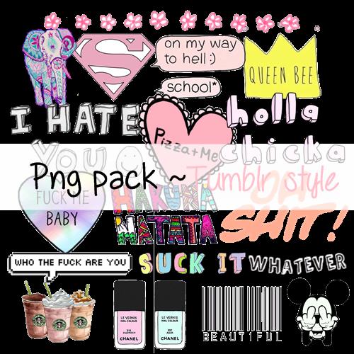 tumblr PNGs favourites by vi0letdreamer on DeviantArt