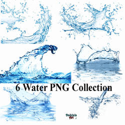6 Water Collection PNG