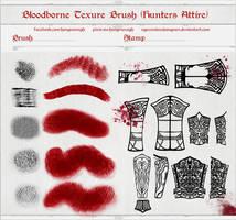 Bloodborne Brush (Hunter Attire) by NguyenHuuHongVan