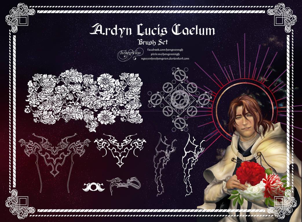 Ardyn Lucis Caelum Brush Set by NguyenHuuHongVan