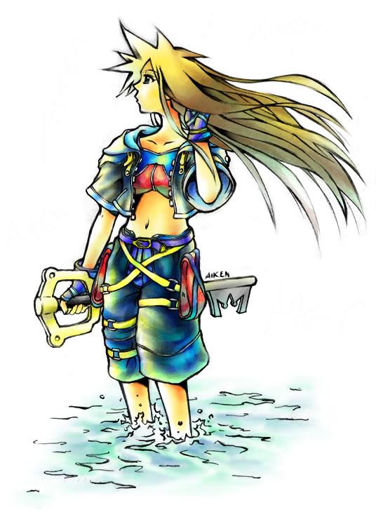 Oblivion! Fem Sora X Male Reader Part 1 by dtrain132 on ... Kingdom Hearts Birth By Sleep Armor Wallpaper