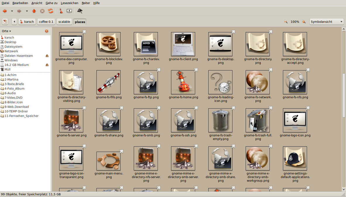 Slipper 0.5 Ubuntu Gnome Theme by Potzblitz7