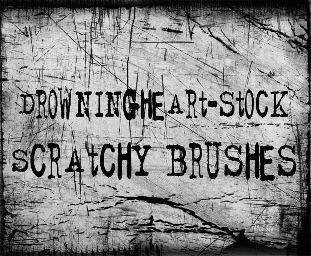 scratchy grunge by drowningheart-stock