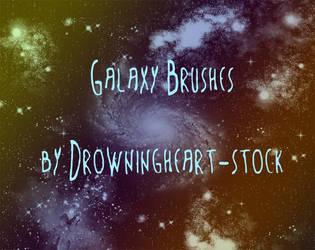 galaxy brushes